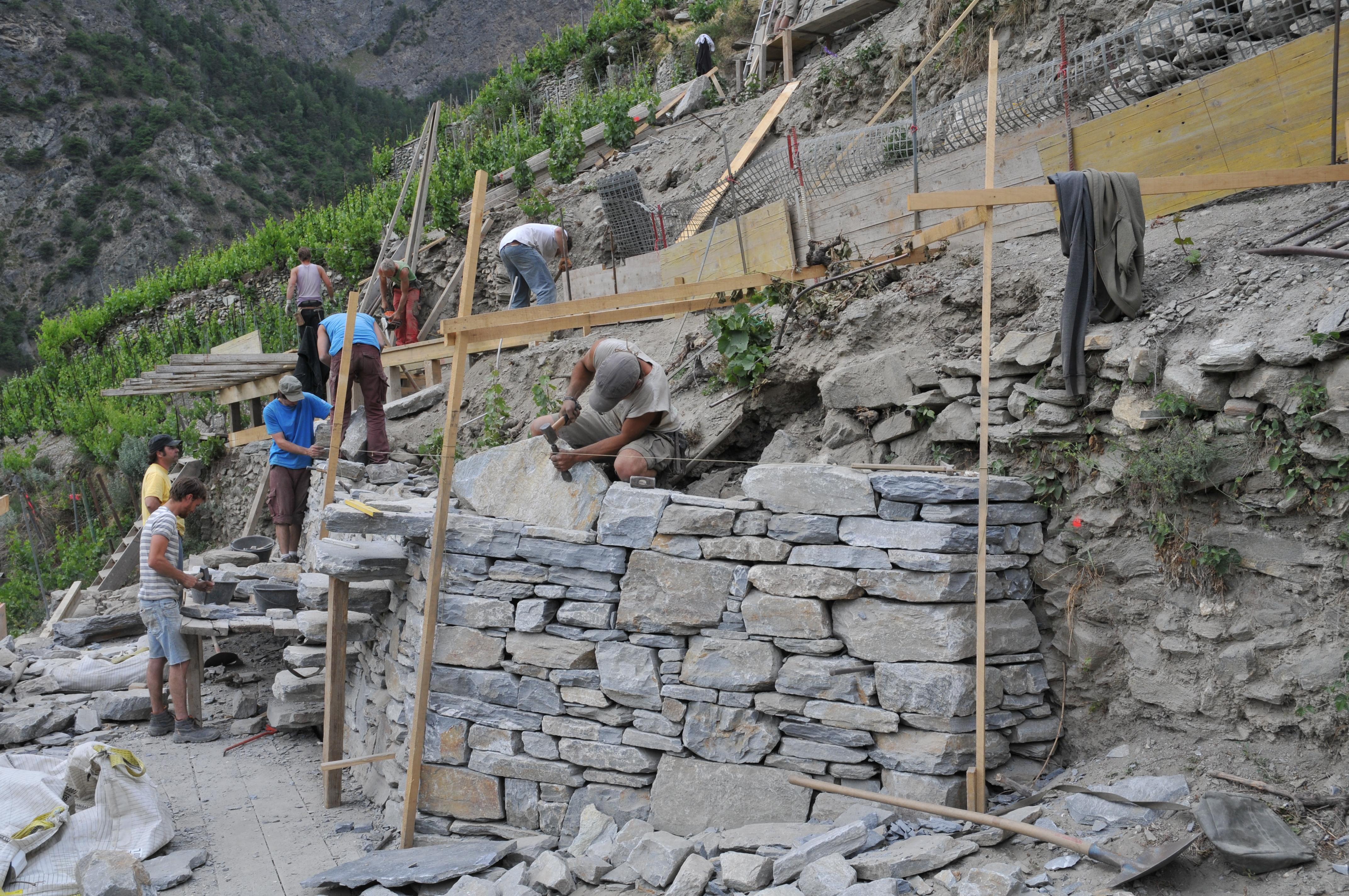 trockenmauern - stiftung umwelteinsatz